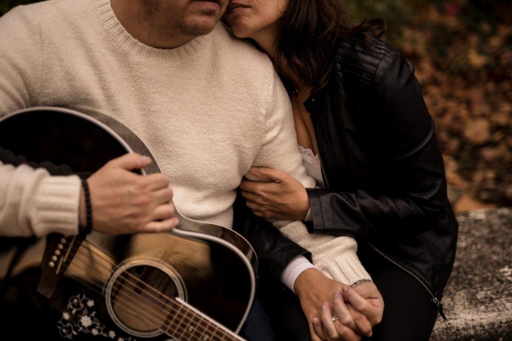 Couple lifestyle automne